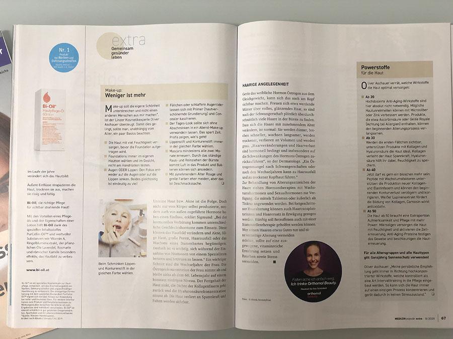 Artikel von Dr. Sigmund in der Zeitschrift MEDIZIN populär